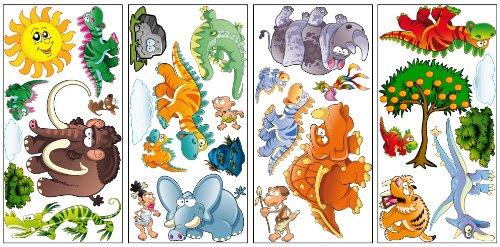 PL-Dozy Dinosaur Kids wall stickers