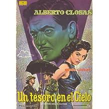 Un Tesoro en el Cielo Póster de película 27 x 40 en Español - 69 cm
