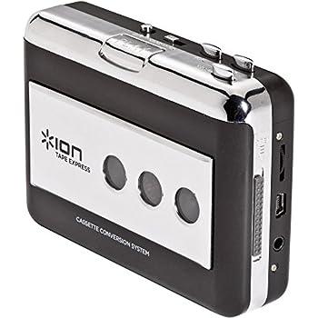 ION Audio Tape Express   Baladeur Cassette et Convertisseur au Format MP3 avec Logiciel Mac et PC Fourni