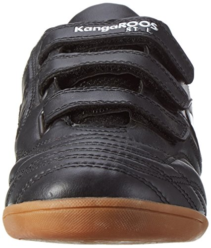 KangaROOS Herren K-Yard 3021 B V Low-Top Schwarz (Black/White)