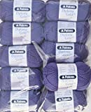 500g Sockenwolle Paket, 10x50g Patons Diploma Gold 4ply Fb. 04242 - lavendel , Wollpaket Sockenwolle zum Stricken und Häkeln