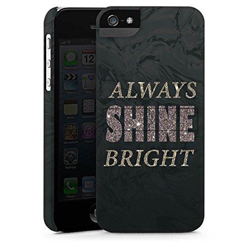 Apple iPhone X Silikon Hülle Case Schutzhülle Shine Glitzer Sprüche Premium Case StandUp