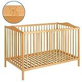 Best For Kids Lux Gitterbett 60x120 cm mit Matratze