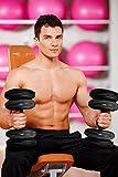 Bramble – Kompaktes Reise Turn-Set – mit Wasser gefüllte Hanteln für Armtrainer. Vollständiges Set – regulierbare Gewichte bis zu 16 KG – mit Tragtasche, für Männer und Frauen - 4
