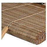 ZEMIN bambù Avvolgibile Tenda Rullo Dimmerabile Protezione Vita Privata Pratico Sollevabile, 3 Colori, 24 Dimensioni Personalizzabile (Colore : A, Dimensioni : 50x150cm)