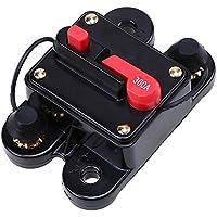 POSSBAY 300Amp Schutzschalter mit Manueller Rückstellung DC 12V für Auto KFZ Boot Audio System