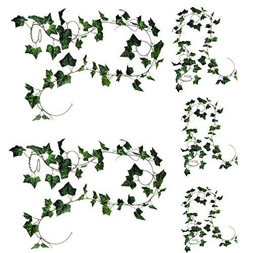 Natural Home Simulation Décor Künstliche Blumen Rattan 275cm Décor hängende Dekoration für...