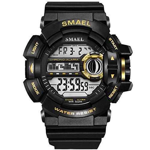 Adisaer Armbanduhren Herren Wasserdicht Digitale Uhr Herrenuhr Outdoor Sportuhr Armbanduhr Automatikuhr