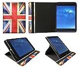 Sweet Tech Majestic TAB-611 3G 10.1 Pollici Tablet Union Jack Universale 360 Gradi di Rotazione PU Pelle Custodia Case Cover (9-10 Pollici