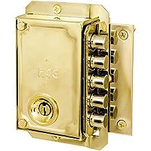 Fac S-90/C - Cerradura, sentido de apertura derecha, color dorado