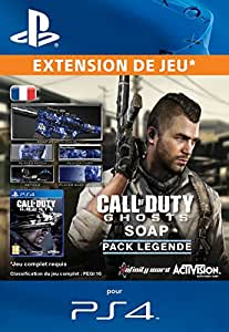 Call of Duty: Ghosts - Soap Legend Pack PS4  [Téléchargement]