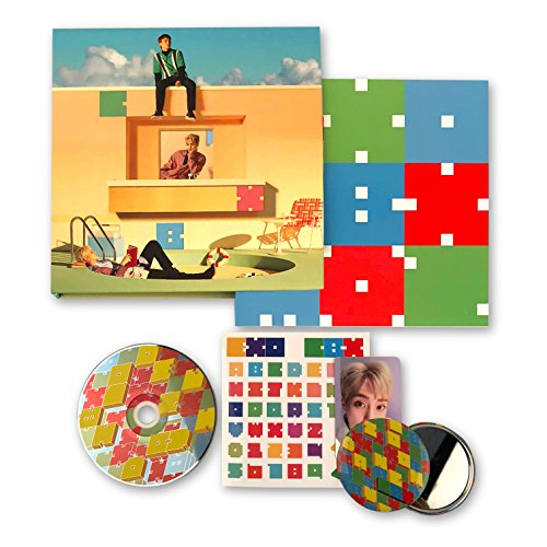 EXO-CBX 2nd Mini Album - Blooming Days [ DAYS Ver. ] CD + Booklet + Photocard + Sticker + FREE GIFT / K-pop Sealed