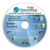 OpenOffice Édition Spéciale pour Windows 10-8-7-Vista-XP | Logiciel pour PC et manuel d'utilisation au format PDF | Alternative à Microsoft Office | Compatible avec Word, Excel et PowerPoint...
