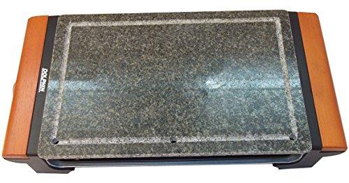 Dolphin DPDA1400BL - Piedra de asar con una potencia de 1400 W