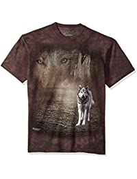 The Mountain Men's Grey Wolf Portrait