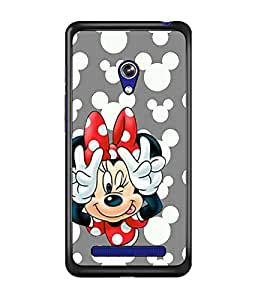 PrintDhaba Minnie Mouse D-2327 Back Case Cover for ASUS ZENFONE 5 A501CG (Multi-Coloured)