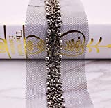 Spitzenbordüre Vintage Perle Perlen Lace Ribbon