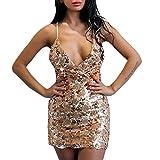 e4cbafc969 Vestiti Donna ,Vestito da donna ,Vestiti aderenti con scollo a V con  paillettes e