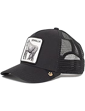 Goorin Bros Gorra de Béisbol - para Hombre Negro King of The Jungle Talla única