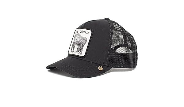967270a82d1f0 Goorin Bros. King of The Jungle Trucker Cap - Grey  Amazon.co.uk  Clothing
