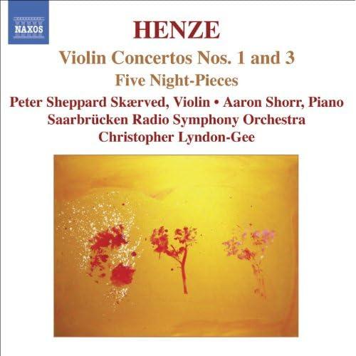 Henze: Violin Concertos Nos. 1 And 3 / 5 Night-Pieces