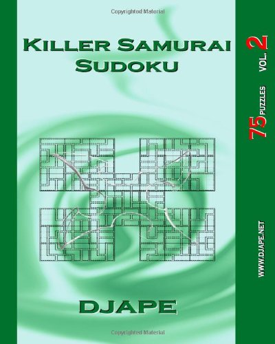Killer Samurai Sudoku: 75 Puzzles: Volume 2