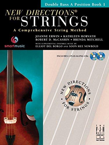fjh Musik Neue Richtungen für Saiten, Bass einer Position Buch 1