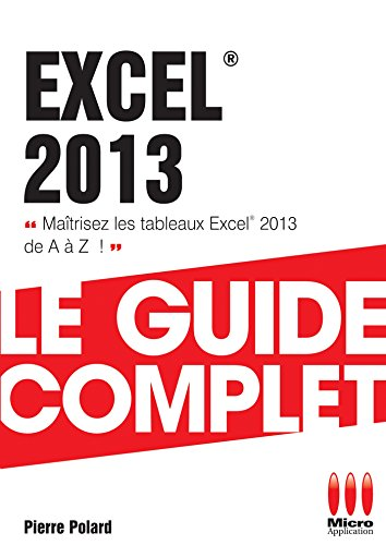 GUIDE COMPLET EXCEL 2013