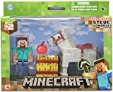 Minecraft Steve with Horse