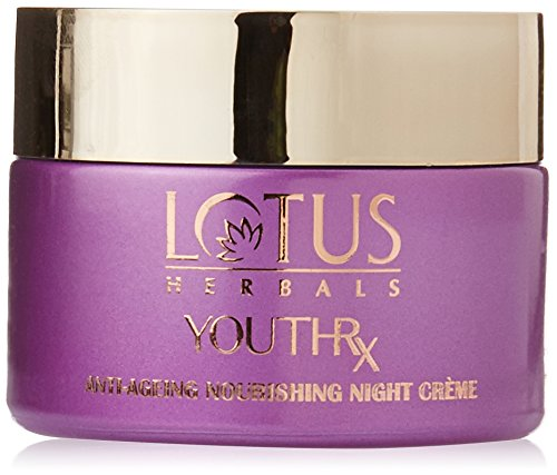 Lotus Herbals Youthrx Anti Ageing Nourishing Night Crème, 50g (Set of 2)