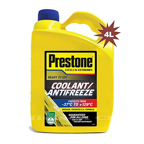 Prestone RMCAF4 Prepared mixture of antifreeze and coolant, 4 liters