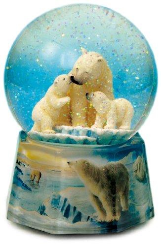 Spieluhrenwelt 48086 Schneekugel Eisbären