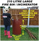 Nice  X Metal Garden Fire Incinerator Galvanised  Lt Bin Burning  With Foxy  Litre Large Garden Incineratorburnediscontinued By Manufacturer With Astonishing Churchill Garden Also Gaudi Gardens In Addition Cbeebies In The Night Garden And Rustic Garden Trellis As Well As Arts And Crafts Gardens Additionally Landscape Gardening Jobs From Amazoncouk With   Foxy  X Metal Garden Fire Incinerator Galvanised  Lt Bin Burning  With Astonishing  Litre Large Garden Incineratorburnediscontinued By Manufacturer And Nice Churchill Garden Also Gaudi Gardens In Addition Cbeebies In The Night Garden From Amazoncouk