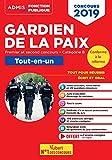 Concours Gardien de la paix - Catégorie B - Tout-en-un - Premier et second concours - Concours 2019 réformé