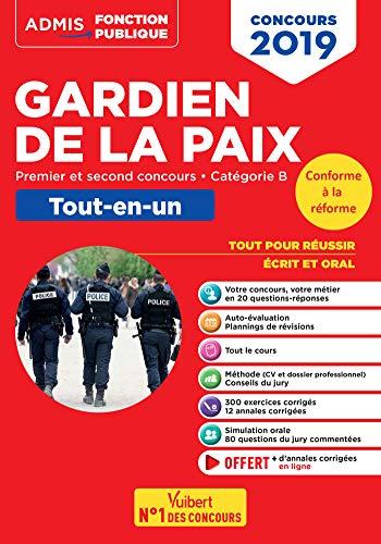 Concours Gardien de la Paix - Tout-en-un - Concours 2019 réformé