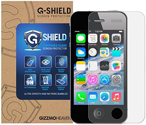 tzfolie für Apple iPhone 4/4S Hartglas Schutzfolie ()