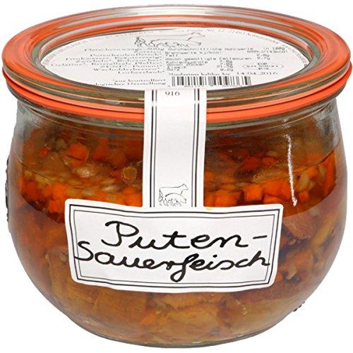 Schröder's Bio Sauerfleisch von der Pute (400 g) - Bio (Bio-putenfleisch)