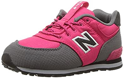 NEW BALANCE mixte enfant kl574wtg M Sneakers - Rose - rose bonbon,