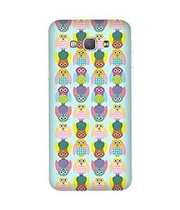 Stripes And Elephant Print-21 Samsung Galaxy A8 Case