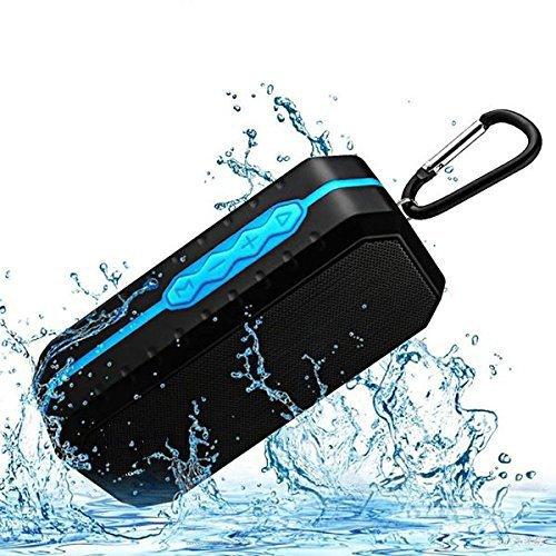 Bluetooth Wireless Lautsprecher wasserdicht IPX5mit HD Enhanced Bass Outdoor Wireless Tragbarer Lautsprecher Eingebaute Mikrofon unterstützt FM AUX TF Speicherkarte USB für iPhone iPad Android Handys Computer Telefon usw.