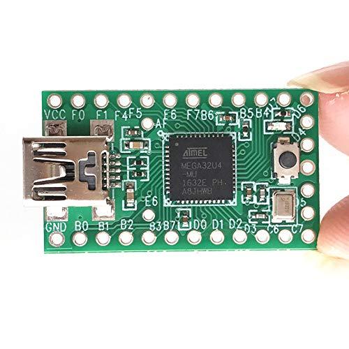 Teensy 2.0 USB-Entwicklungsboard, Single Pushbutton-Programmierung, Teensy 2.0 AVR-Tastatur, USB-Emulation für jedes Gerät(30.5x17.8 mm) -