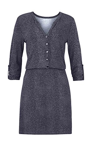 Aniston Kleid, grau-schwarz (44)
