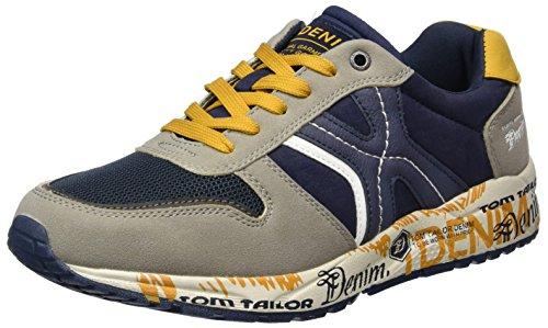 Tom Tailor 2785901, chaussons d'intérieur homme Bleu Marine