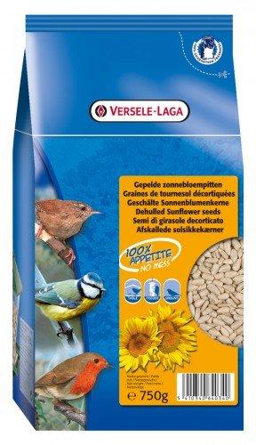 Girasole pelato per uccelli selvatici gr 750