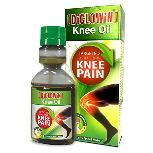 DiCLOWiN Knee Oil - Targeted Relief From Knee Pain (60 ML) Liquid (60 ml)