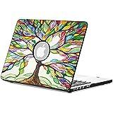 """Fintie MacBook Pro 15 Retina Funda (NO DVD-ROM Drive) - Cuero de la PU + Cubierta de la caja de cáscara dura para Apple MacBook Pro 15.4"""" Pulgadas con Pantalla de la Retina A1398, Love Tree"""