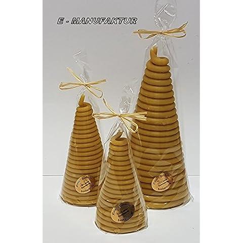 A Cono candele a forma di bastoncini di cera, filo in diverse misure e colori come luce vittima o per occasioni speciali. (8mm/180mm, giallo)