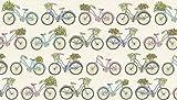 Bike Stoff–0,5Meterware–Fahrräder–mit