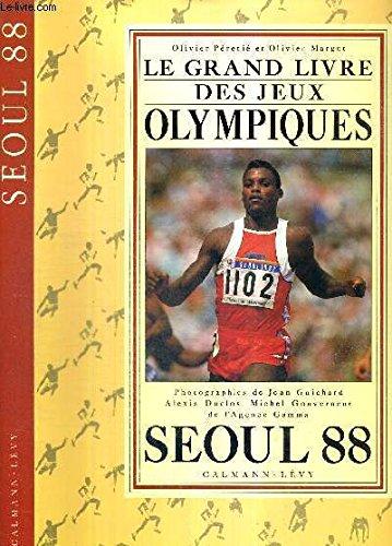 Grand livre jeux olympiques seoul
