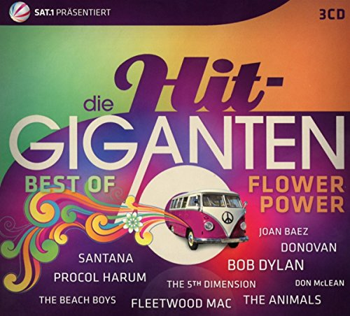 VA-Die Hit-Giganten Best Of Flower Power-3CD-FLAC-2017-NBFLAC Download